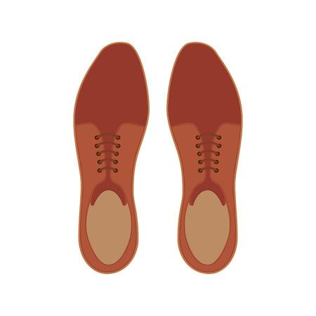 elegant shoes masculine icon vector illustration design Archivio Fotografico - 99577261