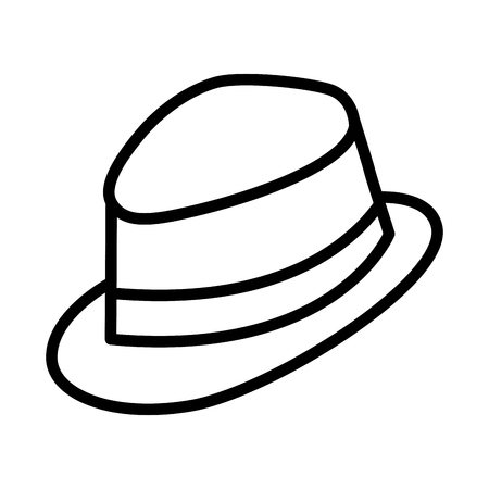 Hat icon Illustration
