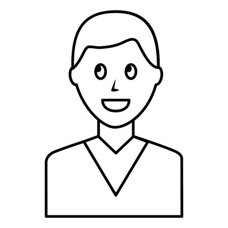 Young man avatar character Foto de archivo - 99583547