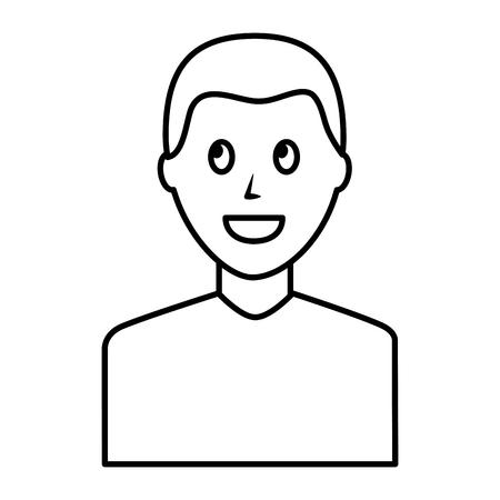 Young man avatar character Foto de archivo - 99583961