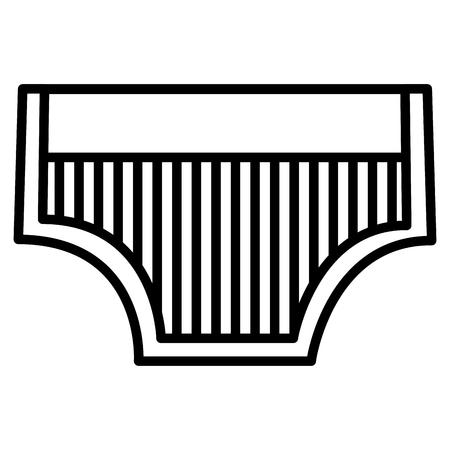 Rayé rayé vêtements garçon douche vecteur de douche illustration contour Banque d'images - 99584280