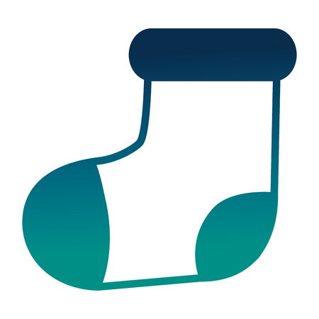 Socks baby isolated icon vector illustration design Illustration