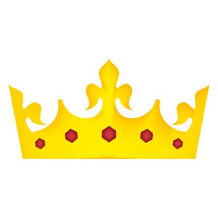 king crown luxury icon vector illustration design Stock Vector - 99596425