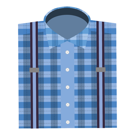 bent male shirt icon vector illustration design