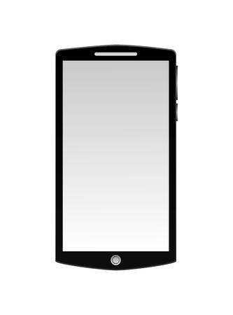 smartphone digital gadget technology image vector illustration
