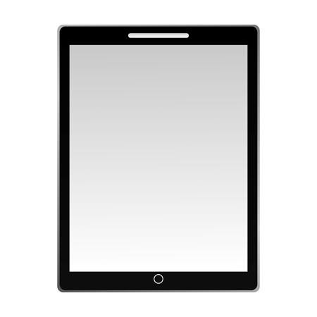 tablet computer device technology digital vector illustration Ilustração