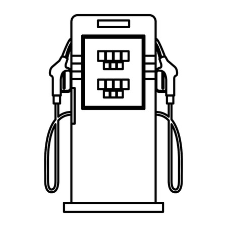 energy fuel pump icon vector illustration design