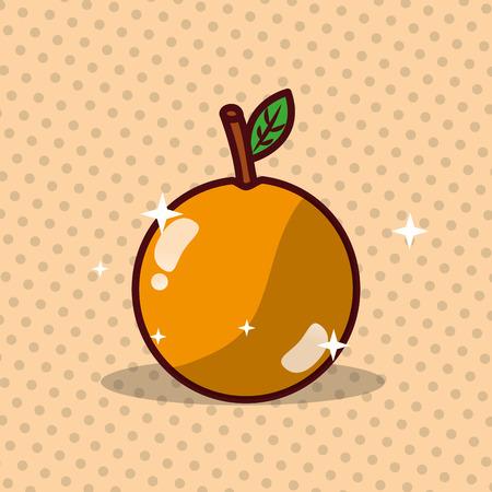 Orange vector illustration