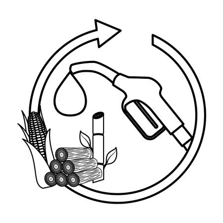 Eco friendly fuel concept vector illustration design Stock Vector - 99647561