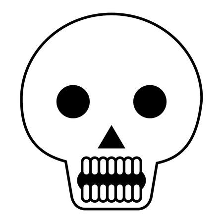 death day mask celebration vector illustration design Stock Vector - 99648987