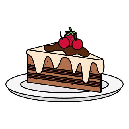 Cake portion icon