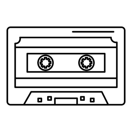 Cassette icon Ilustrace