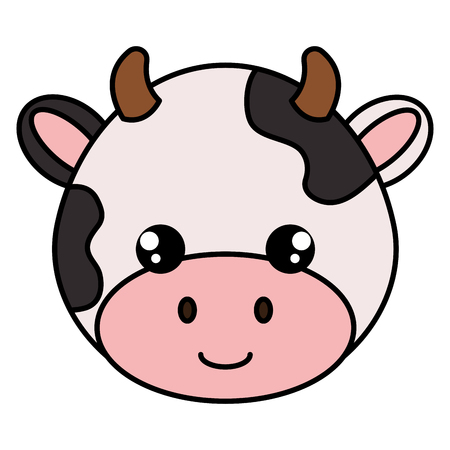 Cow head character icon