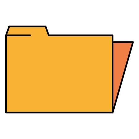 File folder isolated icon vector illustration design Ilustração