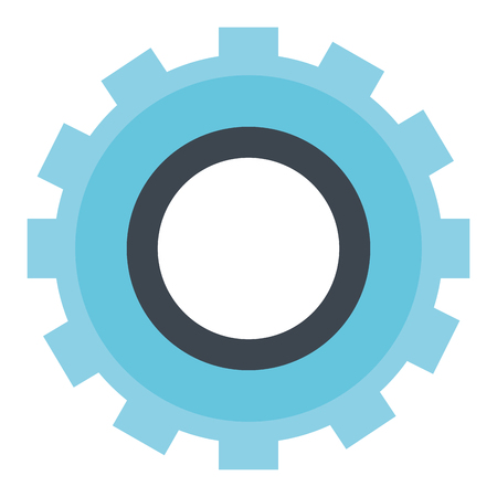 gears machinery isolated icon vector illustration design Çizim