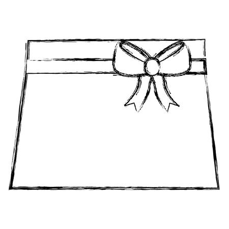 clothes baby girl fashion skirt bow ribbon vector illustration sketch Illustration