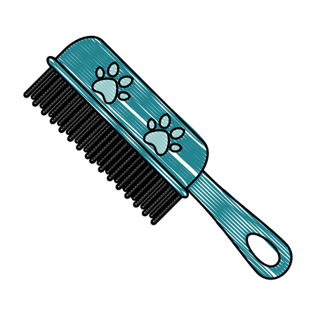 handle cleaning brush isolated icon vector illustration design Illustration