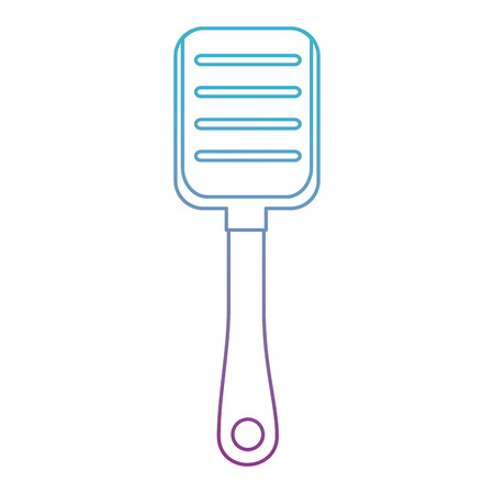 plastic shovel isolated icon vector illustration design