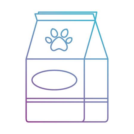 pet shop paper bag vector illustration design  イラスト・ベクター素材