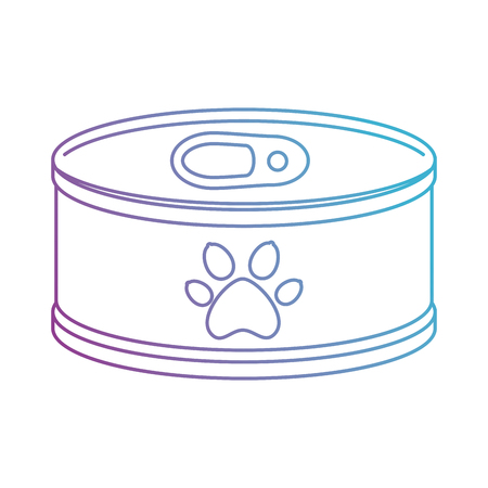 tuna can isolated icon vector illustration design Ilustração