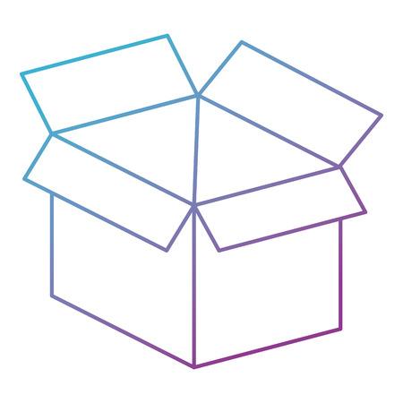 box carton isolated icon vector illustration design 版權商用圖片 - 99909547