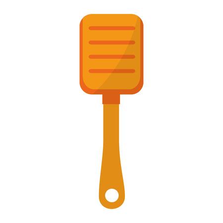 plastic shovel isolated icon vector illustration design