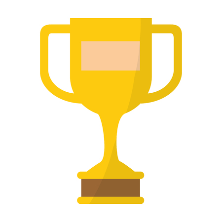 A trophy cup icon vector illustration design Illustration