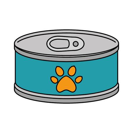 tuna can isolated icon vector illustration design Foto de archivo - 99932605