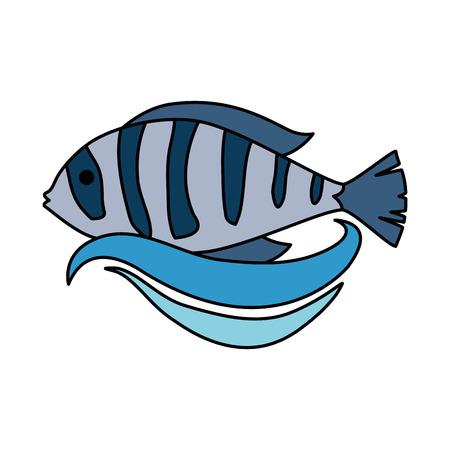 A cute ornamental fish icon.