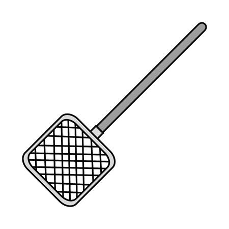 Aquarium cleaning net icon vector illustration design Foto de archivo - 99888708