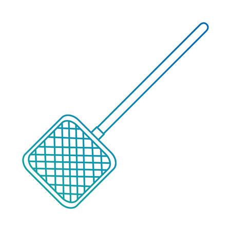 aquarium cleaning net icon vector illustration design Foto de archivo - 99919026