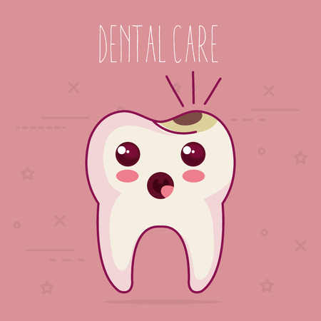 dental care characters vector illustration design 向量圖像