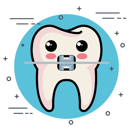 dental care characters vector illustration design Ilustracja