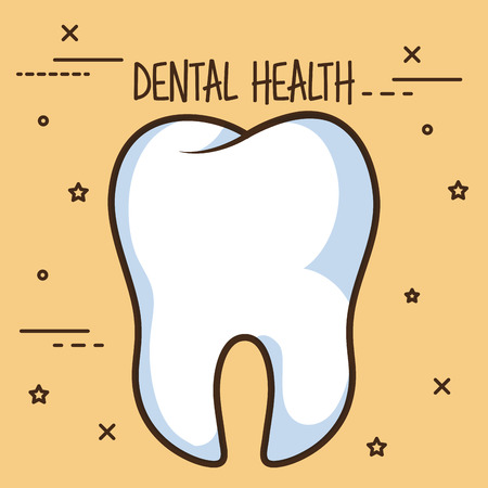 healthy tooth dental care icon vector illustration design