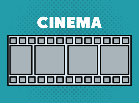 cinema tape entertainment icon entertainment icon vector illustration design Stock Vector - 99976391