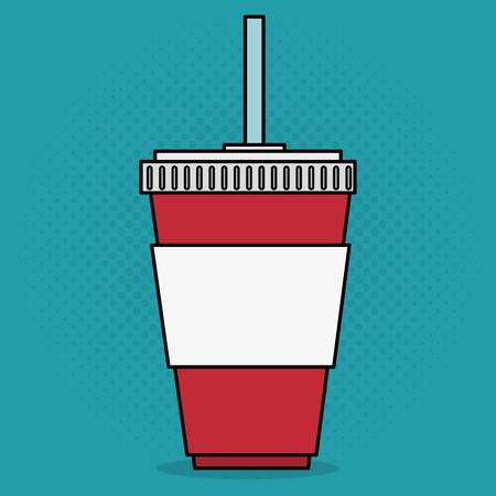 cinema soda drink entertainment icon vector illustration design Stok Fotoğraf - 99995896