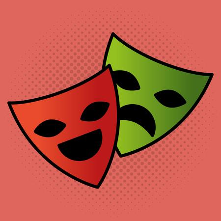 cinema theatrical mask entertainment icon vector illustration design Stok Fotoğraf - 99995961