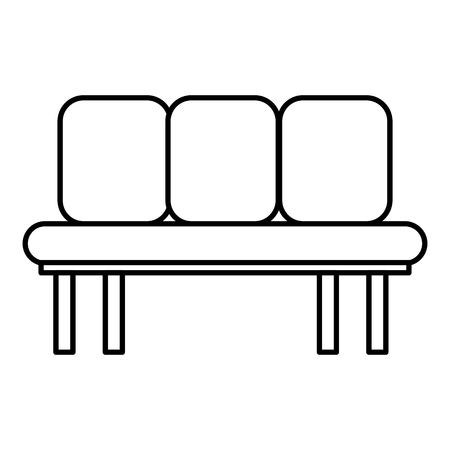 Sofa chair icon