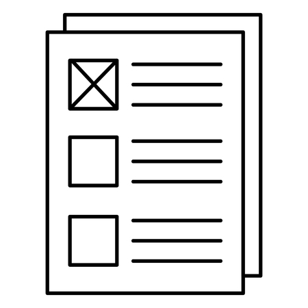 Paper document icon