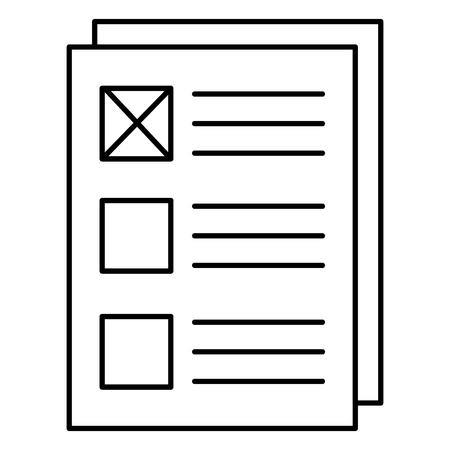 Paper document icon Banco de Imagens - 99943974