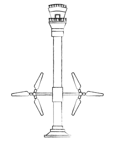 tidal energy station renewable alternative energy vector illustration