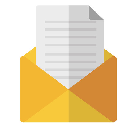 envelope mail isolated icon vector illustration design Stock Vector - 100195354