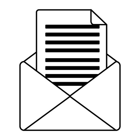 envelope mail isolated icon vector illustration design 일러스트