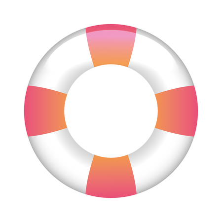 float lifeguard isolated icon vector illustration design Archivio Fotografico - 100197394