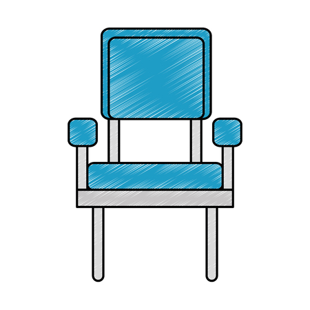 waiting room chairs icon vector illustration design Banco de Imagens - 100219780