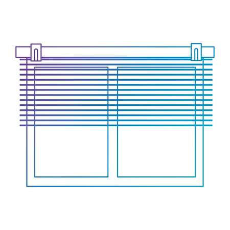 windows with blind icon vector illustration design Illusztráció
