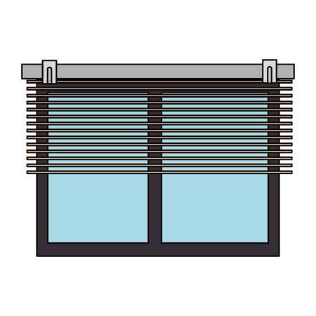ramen met blind pictogram vector illustratie ontwerp Vector Illustratie