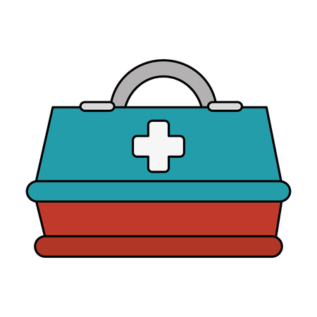 medical box isolated icon vector illustration design