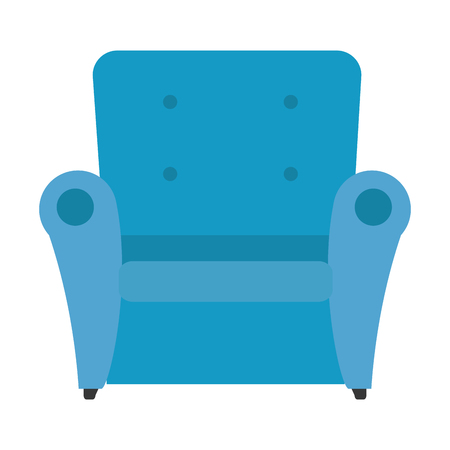 comfortable sofa isolated icon vector illustration design Archivio Fotografico - 100229850
