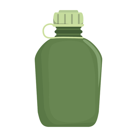 military container isolated icon vector illustration design